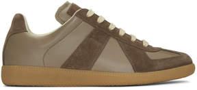 Maison Margiela Brown Replica Sneakers