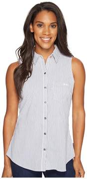 Columbia Super Harborside Woven Sleeveless Shirt Women's Sleeveless