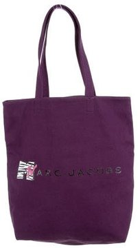 Marc Jacobs MTV Canvas Tote - PURPLE - STYLE