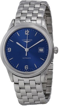 Longines Flagship Automatic Blue Dial Stainless Steel Men's Watch L48744966