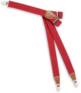 Black & Brown Black Brown Adjustable Clip-On Suspenders