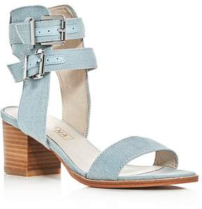 Sol Sana Porter Denim Ankle Strap Sandals