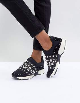 Carvela Luck Studded Sneakers