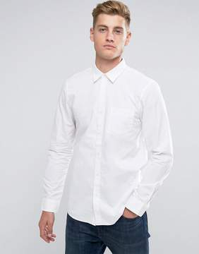 Jack Wills Salcombe End On End Regular Fit Shirt In White