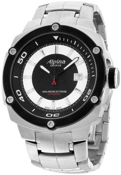 Alpina Avalance Extreme AL525LBS5AE6B Stainless Steel Automatic 48mm Mens Watch