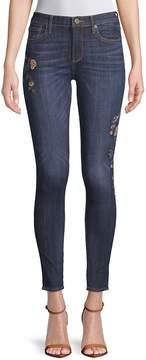 Driftwood Women's Jacky Skinny Jeans - Dark Blue, Size 28 (4-6)