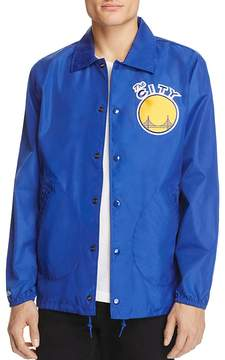Mitchell & Ness Golden State Warriors NBA Coach Jacket - 100% Exclusive