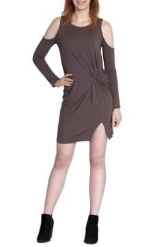 Cherish Cold Shoulder Dress