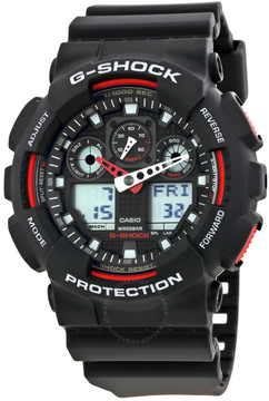 Casio G-Shock Black Resin Strap Men's Watch