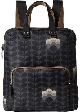 Orla Kiely Buttercup Stem Printed Backpack Tote Backpack Bags