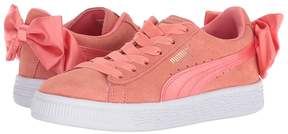 Puma Kids Suede Bow AC PS Girls Shoes