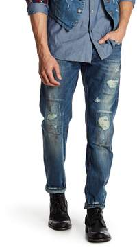 Gilded Age Morrison Distressed Slim Fit Jeans - 32-34 Inseam