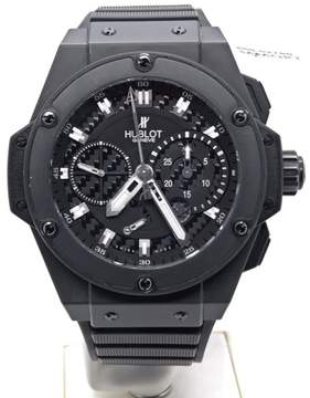 Hublot King Power Black Magic 256/500 709.CI.1770.RX Rubber 48mm Mens Watch