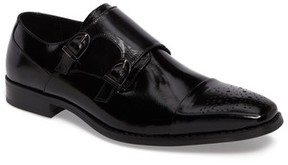 Stacy Adams Men's Trevor Double Monk Strap Shoe