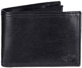 Dockers Men's Rfid-Blocking Slimfold Wallet with Zipper Closure