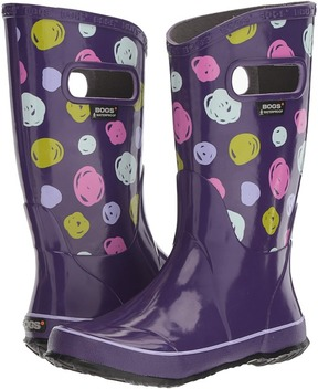 Bogs Sketched Dots Rain Boot Girls Shoes