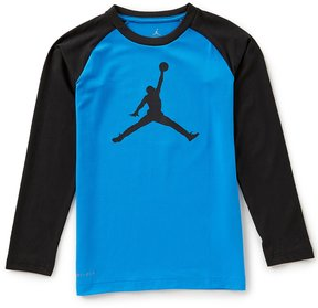 Jordan Big Boys 8-20 Jumbo Jumpman Dri-FIT Tee
