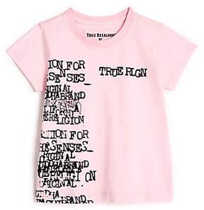 True Religion TODDLER/LITTLE KIDS TYPEWRITER GRAPHIC TEE