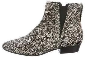 Etoile Isabel Marant Patsha Ponyhair Ankle Boots