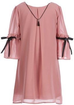 I.N. Girl Little Girls 4-6X Tie Bell-Sleeve Dress