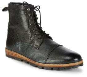 Ben Sherman Andres Leather Ankle Boots