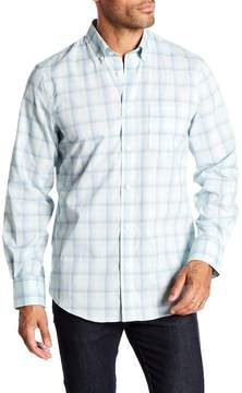 Nordstrom Tech Smart Plaid Print Regular Fit Shirt