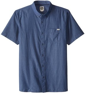 Reef Men's Washed Out Short Sleeve Shirt 8161194