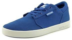 Supra Yorek Low Round Toe Canvas Tennis Shoe.