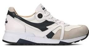 Diadora Heritage Men's White Leather Sneakers.