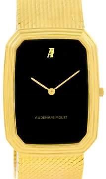 Audemars Piguet 4013 18K Yellow Gold Manual 27mm Mens Watch