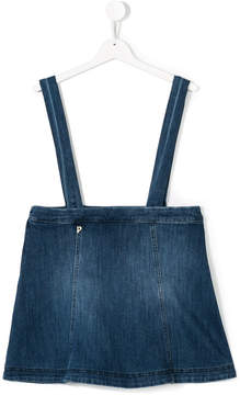 Dondup Kids dungarees denim skirt