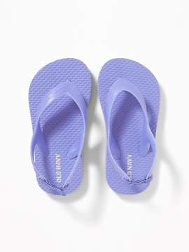 Old Navy Pastel-Color Flip-Flops for Toddler Girls