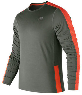 New Balance Men's MT73063 Accelerate Long Sleeve Tee