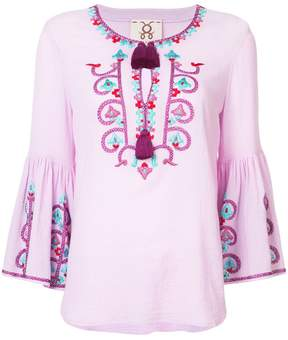 Figue Britt embroidered peasant blouse