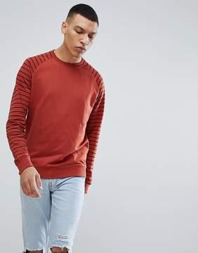 ONLY & SONS Stripe Sweatshirt