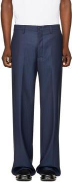 Balenciaga Blue Baggy Bummster Trousers