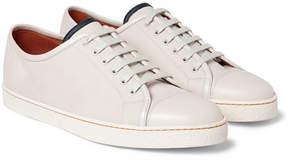 John Lobb Brushed-Leather Sneakers