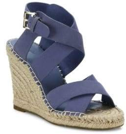 Joie Kaelyn Nubuck Espadrille Wedge Sandals