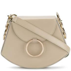 Nina Ricci disc detail shoulder bag