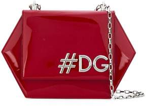 Dolce & Gabbana Girls Hexagonal shoulder bag