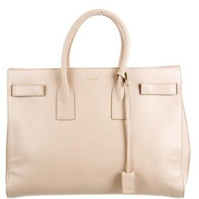 Saint Laurent Large Sac de Jour - NEUTRALS - STYLE