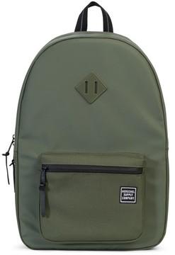 Herschel Men's Ruskin Studio Collection Backpack - Green