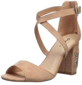 Qupid Women's Chester-132 Heeled Sandal.