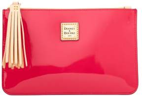 Dooney & Bourke Patent Carrington Pouch - HOT PINK - STYLE