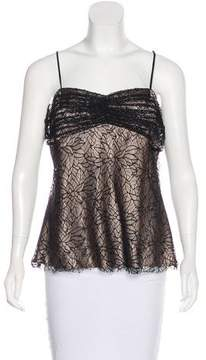Laundry by Shelli Segal Lace Square Neck Top