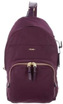 Tumi Nylon Leather-Trim Backpack