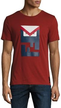 Fendi Men's Bag Bugs Crewneck T-Shirt