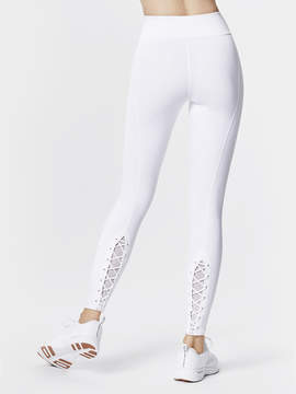 Carbon38 7/8 Lace Up Seam Legging