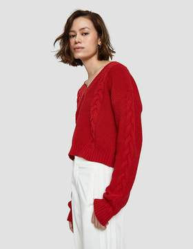 Which We Want Alice Sweater in Red