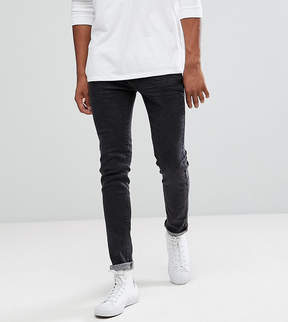 Bellfield TALL Skinny Jeans In Washed Black